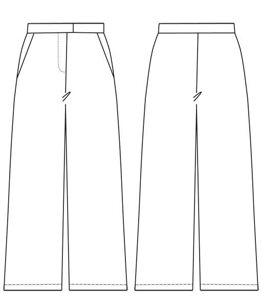 Schnittmuster Hose Ninaschnittchen Schnittmuster und Nähanleitungen