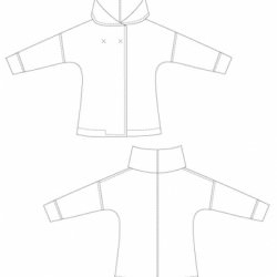 Sewing Pattern Jacket Eve