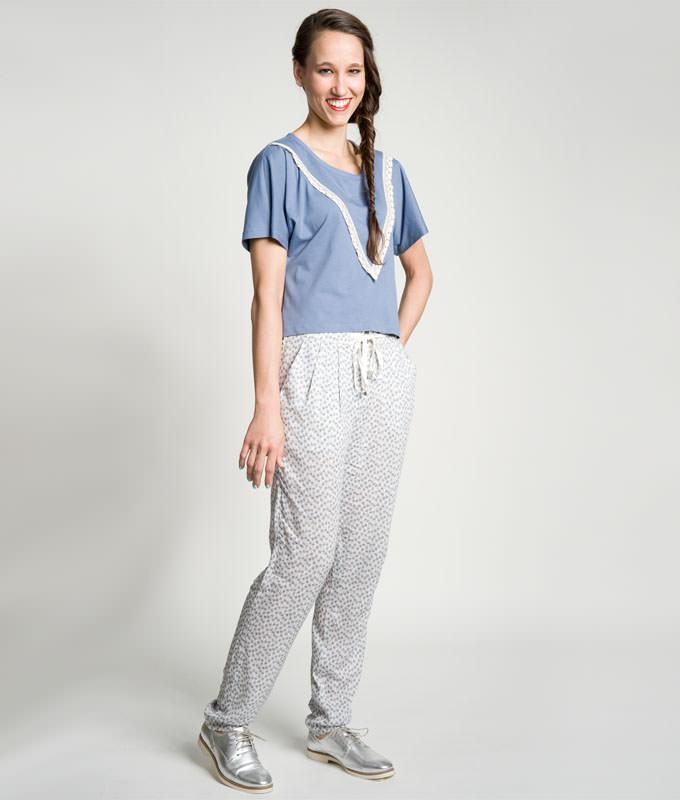 Sewing Pattern Shirt Katja