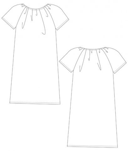schnittmuster kinderkleid liselschnittchen schnittmuster und n hanleitungen. Black Bedroom Furniture Sets. Home Design Ideas