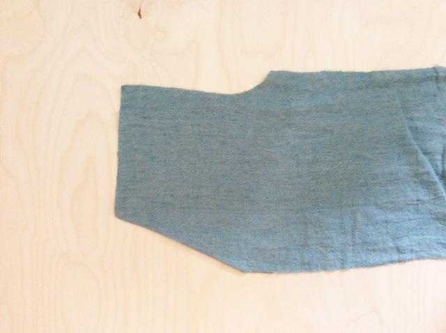 Tascheneingriff bügeln und ggf. von rechts absteppen.