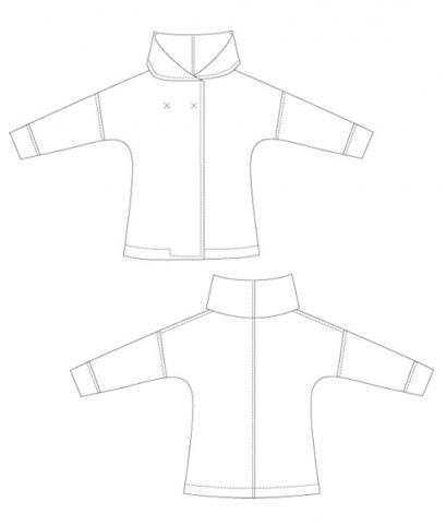 Sewing Pattern Jacket Eve