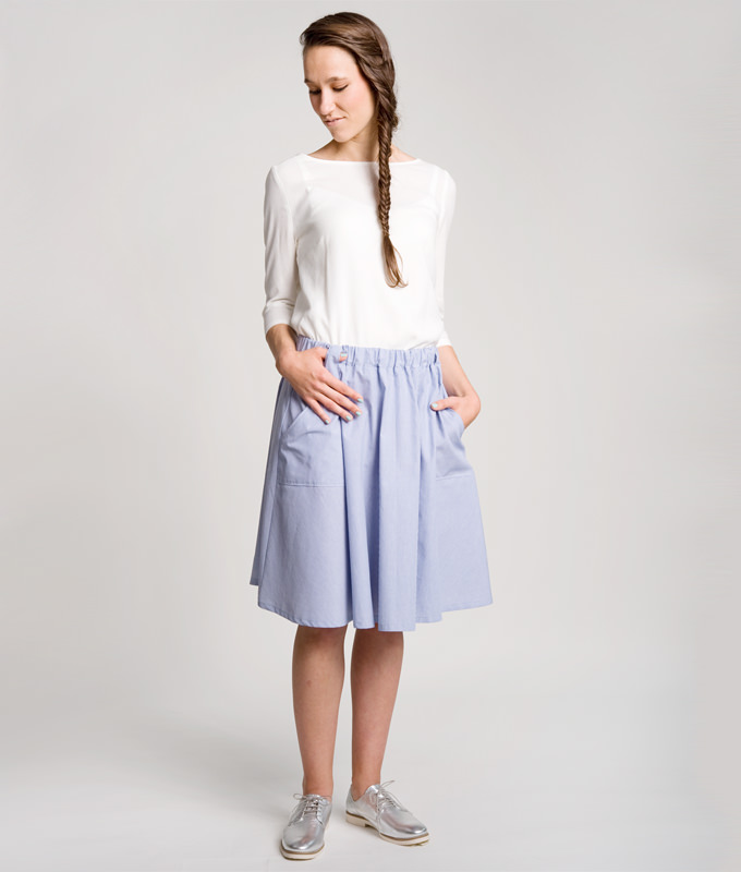 Sewing Pattern Skirt Elsa