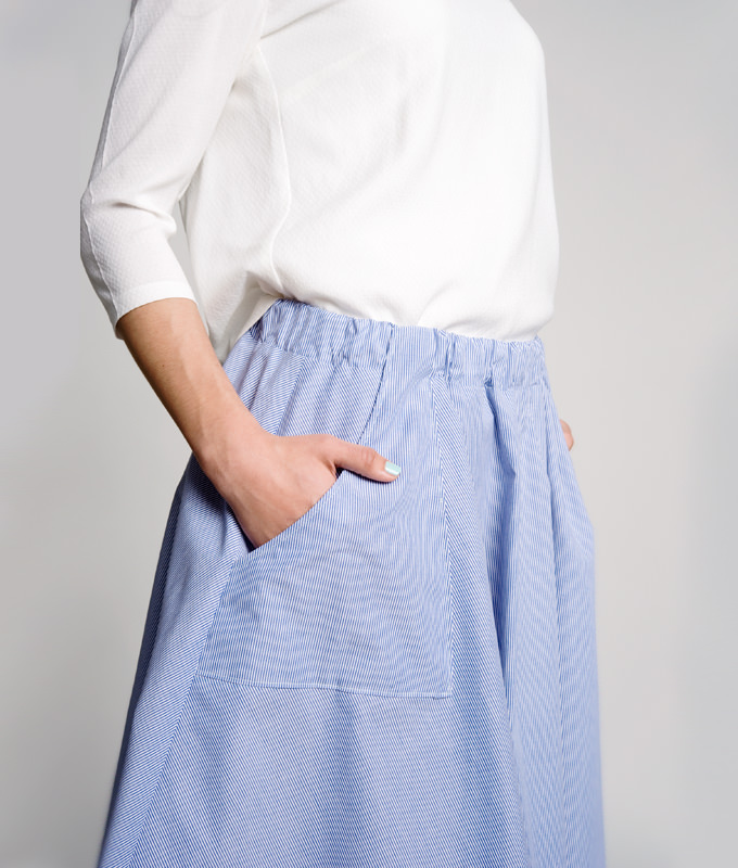 Famous Nähmuster Maxi Skirt Composition - Decke Stricken Muster ...