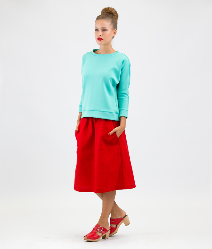 Sewing Pattern Skirt and Shirt Annalisa