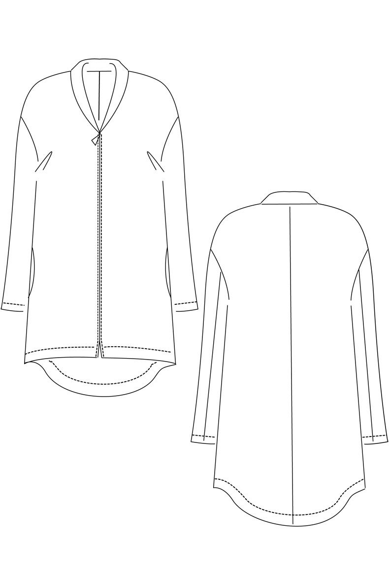 Sew Your Own cosy Short Coat!