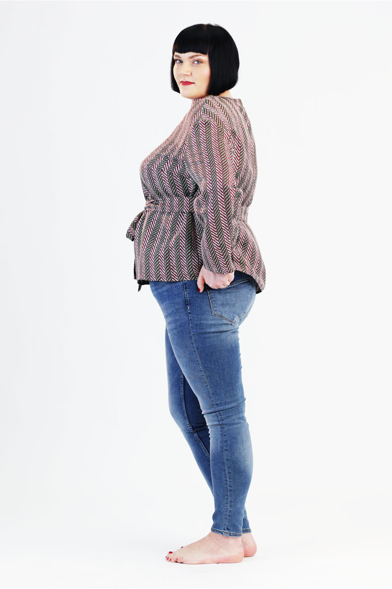 Sewing Pattern for a Plussize Tunic - Quickly and Easily Sewn