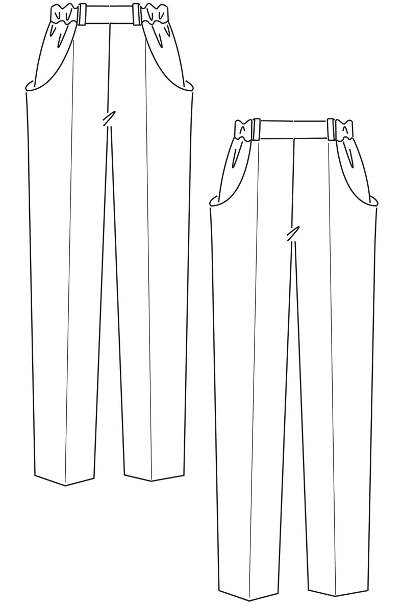 Need a Sewing Pattern for some Comfy Trousers or Shorts?
