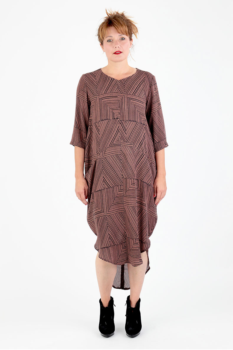 Sewing Pattern For A Cocoon Dress