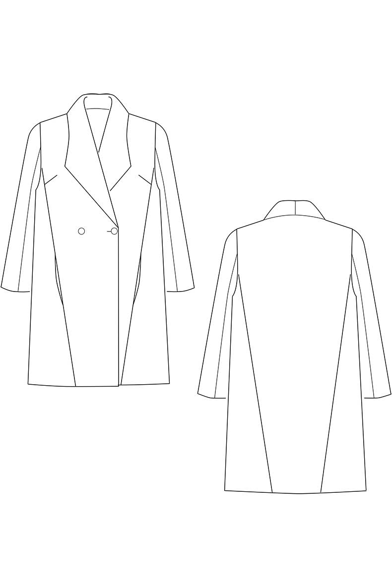 Sew Yourself A Cool and Easy To Sew Short Coat - Sewing Pattern \