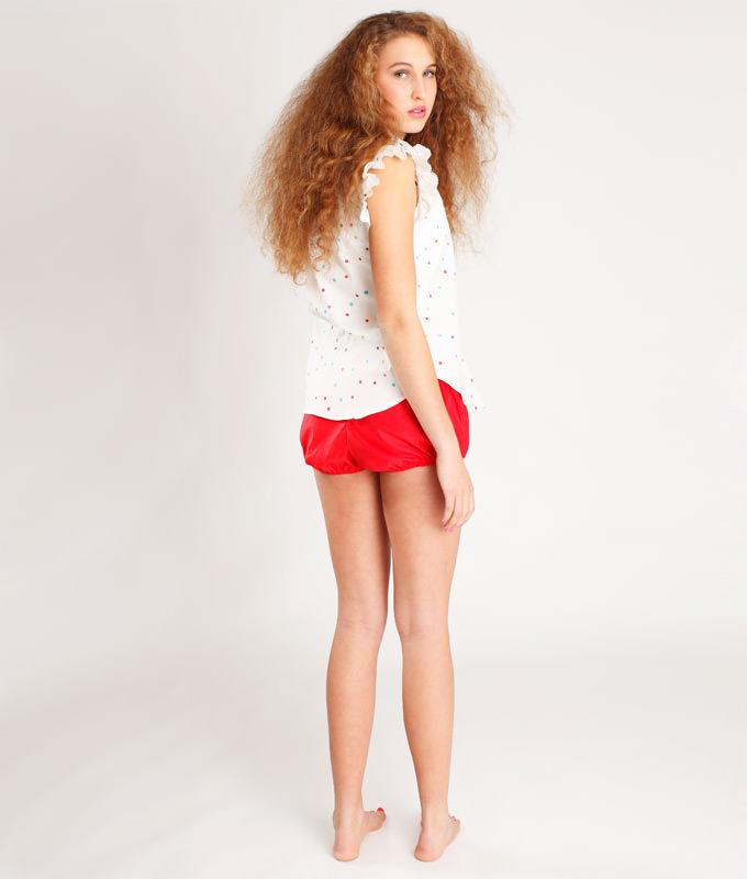 Näh Dir ein süßes Sommerkleid mit dem Schnittmuster Kleid und Bluse Franzi.