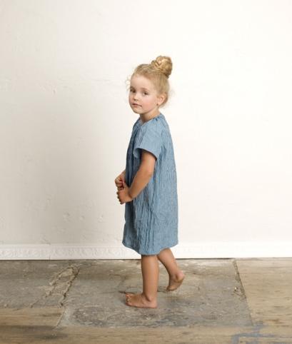 Schnittmuster für ein leichtes Kindersommerkleid