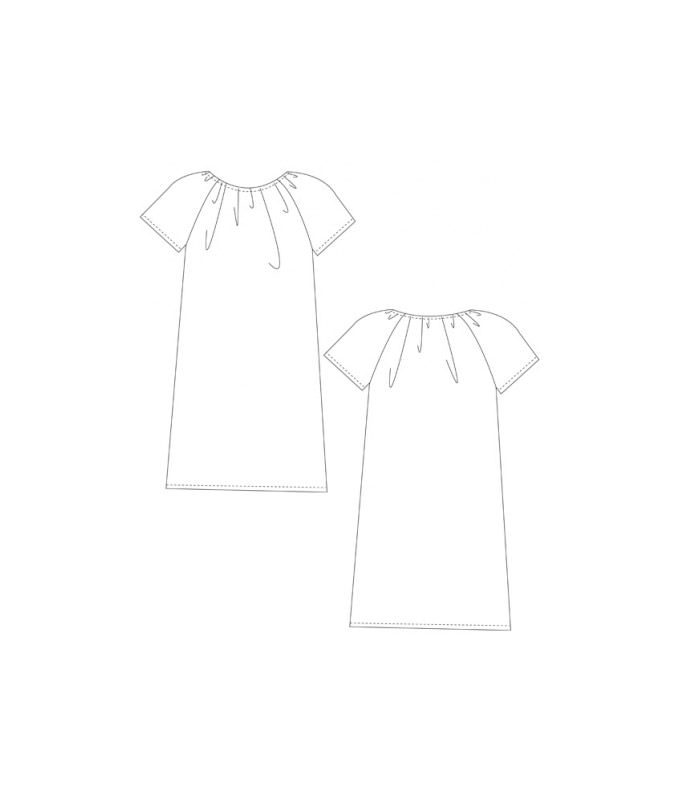 Schnittmuster Kleid Lucie