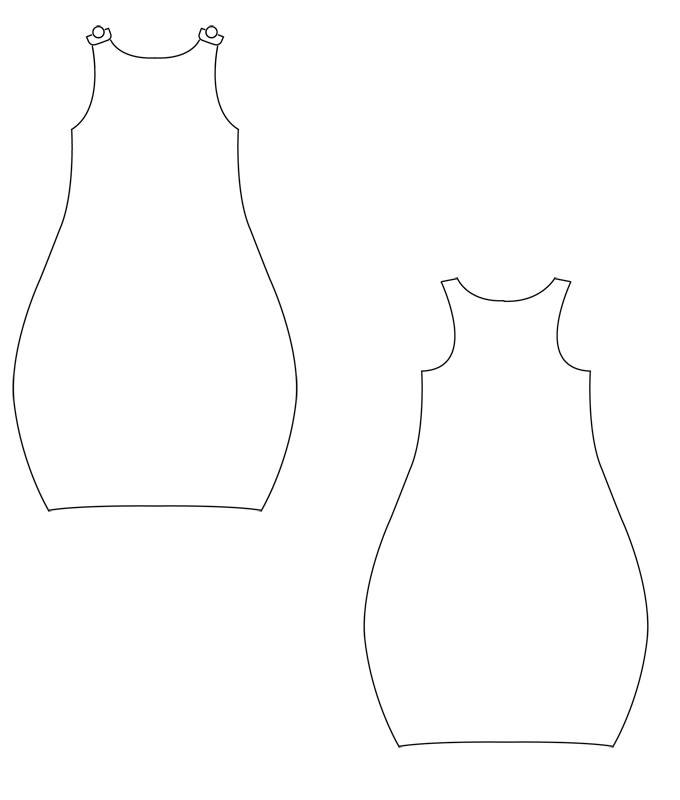 Attractive Einfaches Schnittmuster Kleid Ideas - Decke Stricken ...