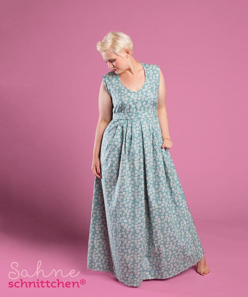 Schnittmuster-Kleid-Luciana