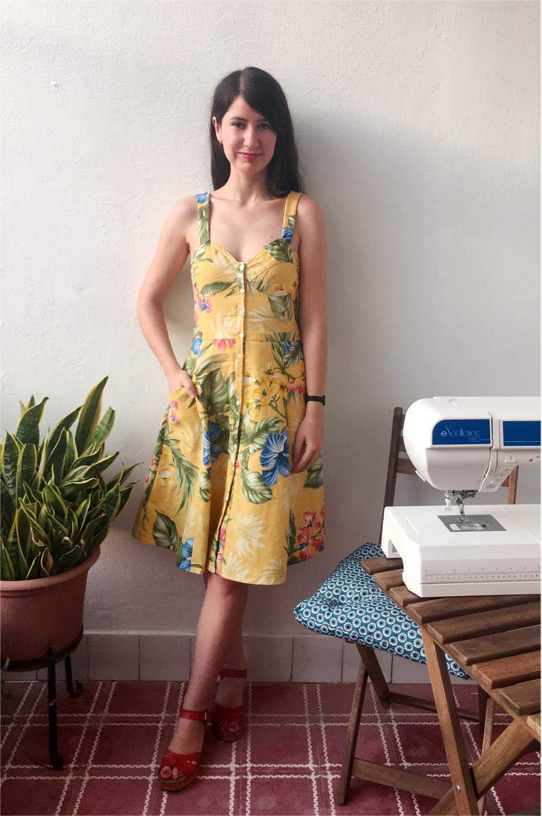 Maker\'s Wish - Schnittmuster Kleid Marta | schnittchen patterns