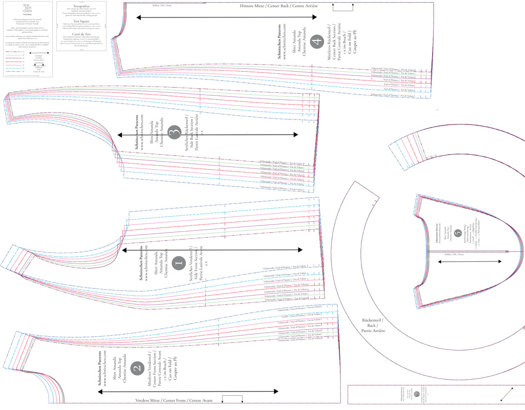 Schnittmuster Drucken Lassen | schnittchen patterns