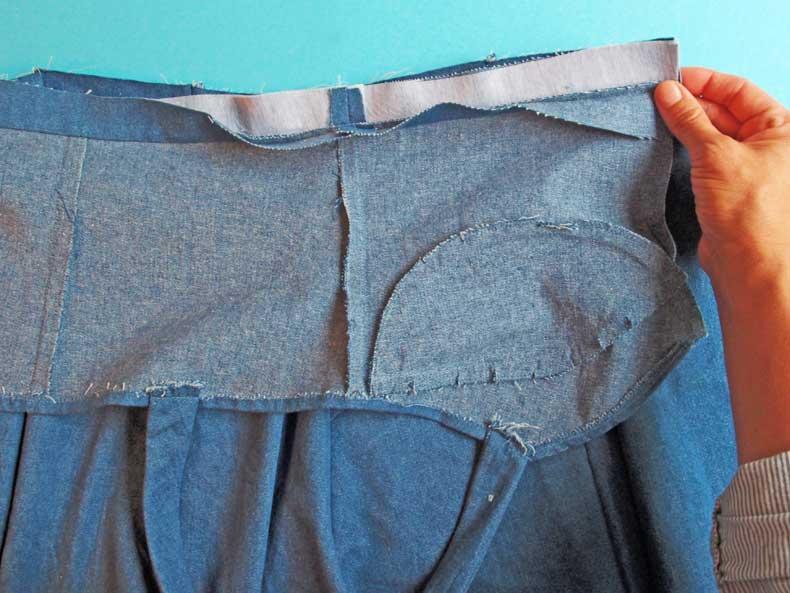 Kleid nähen - Sewalong zum Schnittmuster Kleid Marta