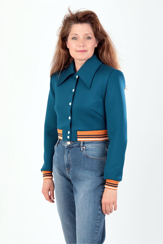 Schnittmuster für eine coole Jacke: die Jacke Holly mit ...