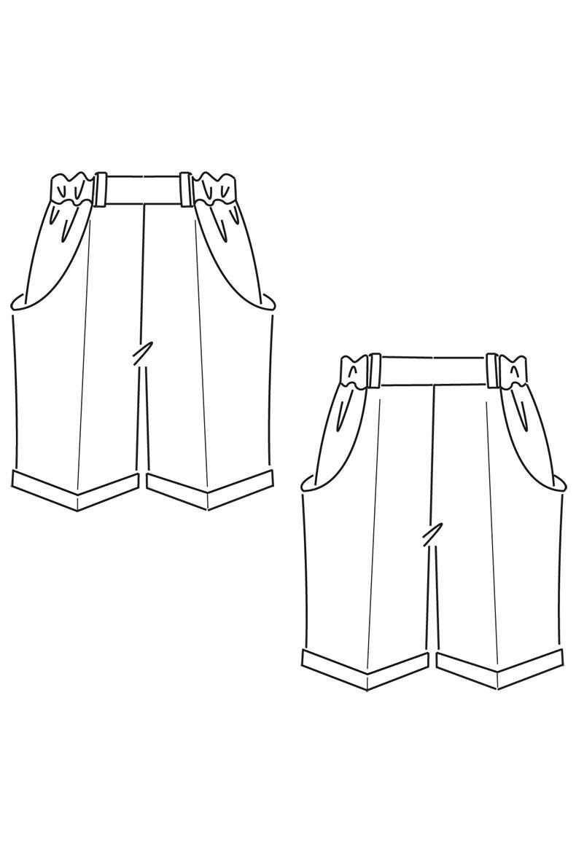 Tolles Schnittmuster für eine Hose und eine Shorts zum selbernähen